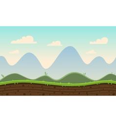 Game cartoon background vector