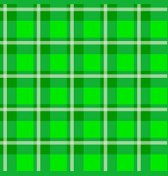 Green checkered cloth vector