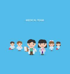 Medical team concept vector