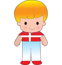 Poppy denmark boy vector