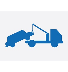 crane design vector image