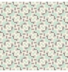 Seamless vintage fabric pattern vector
