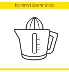 Juicer icon vector