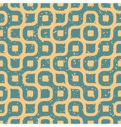Seamless wavy lines irregular retro grungy vector