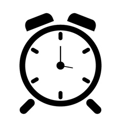 Alarm clock icon vector