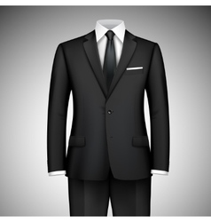 Businessman suit vector
