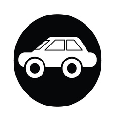 Car symbol icon vector