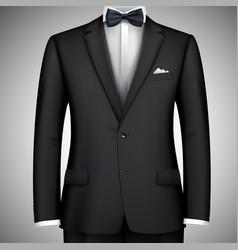 Businessman suit vector image