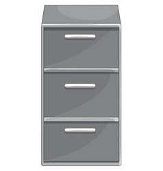 Drawers vector image vector image