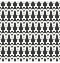 Geometric ethnic tribal seamless pattern wrapping vector