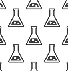 Laboratory seamless pattern vector