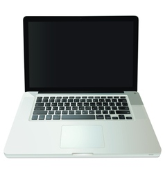 Notebook computer vector image