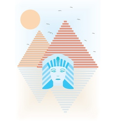 Abstract ancient egypt vector
