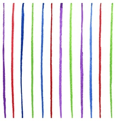 Colorful line vector image