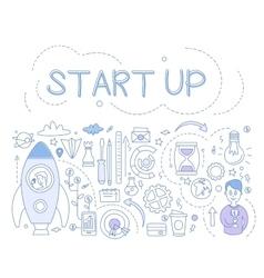 Start up infographics vector