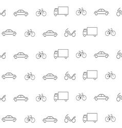 transportation pattern2 vector image