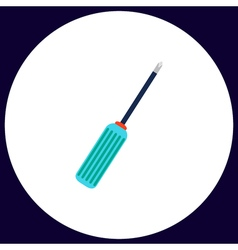 Screwdriver computer symbol vector
