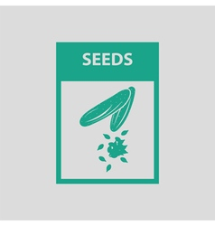 Seed pack icon vector