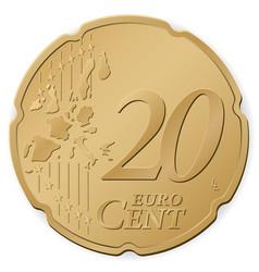 20 euro cent vector