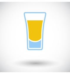 Shot drink vector