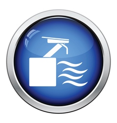 Diving stand icon vector image