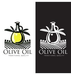 Logo set about olive oil vector
