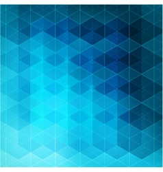 Abstract blue light template geometric background vector image