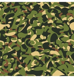 Military camouflage green pattern vector
