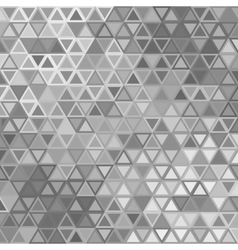 triangles gray vector image