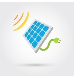 Solar cell panel energy vector