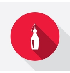 Glue icon super glue bottle symbol vector