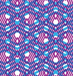 Geometric violet messy lined seamless pattern vector