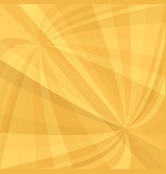 orange curved ray burst background - from vector image vector image