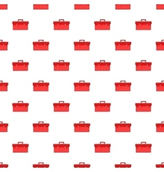 Red case pattern cartoon style vector