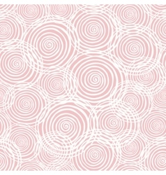Sweet seamless helix pattern winter colection vector