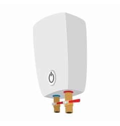 Boiler cartoon icon vector