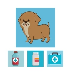 Pet and animal shop vector