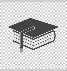 Education and book flat icon vector