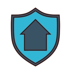 Home protection icon image vector