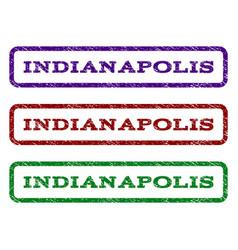 Indianapolis watermark stamp vector