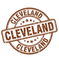 Cleveland stamp vector