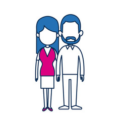 Couple people relationship together character vector