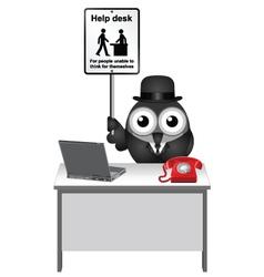 Help Desk vector image