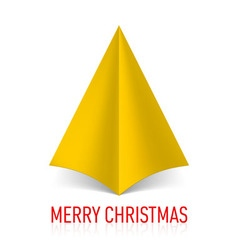 Merry christmas corner paper 16 vector