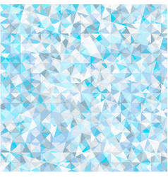 polygonal frost background vector image vector image