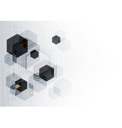 Technological communication digital system vector