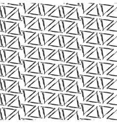 Ink drawing triangles simple background seamless vector