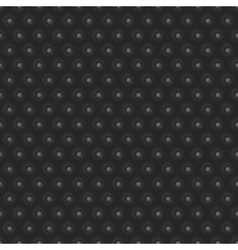 Abstract 3d black geometric background vector image