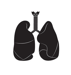lungs 01 vector image