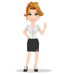 Businesswoman 06 vector